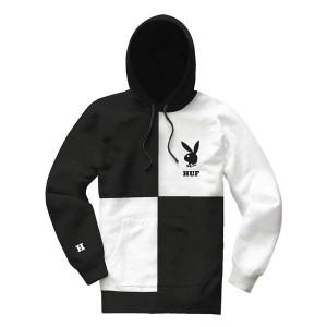 Playboy color block hoodie