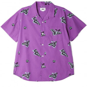 Butterfly woven