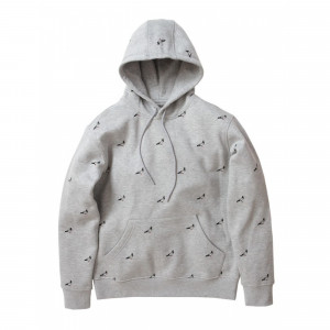 All over pigeon hoodie