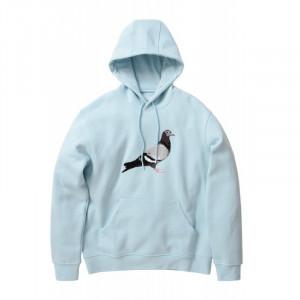 Pigeon logo hoodie